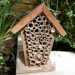 Bee house to attract bees into your garden