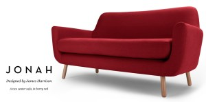 Sofa designed by British designer James Harrison