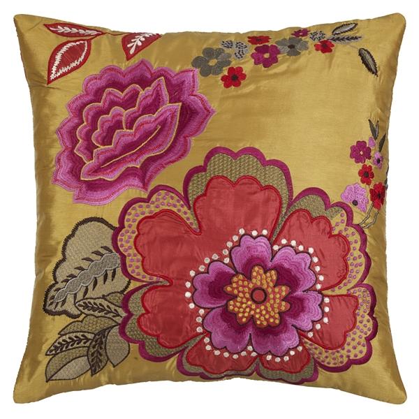 John Lewis oriental flower cushion half price