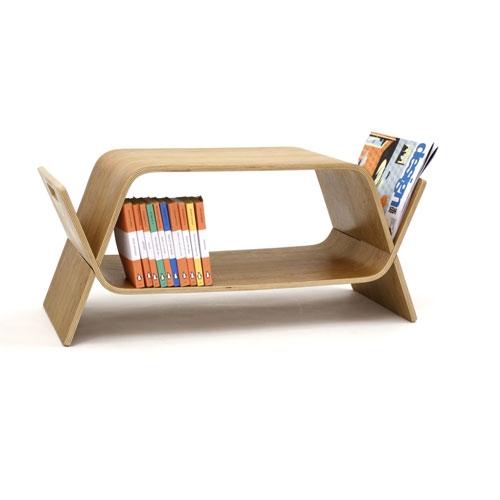 John Green Embrace modern oak table storage unit