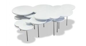 Mark Hark funky contemporary cloud table design
