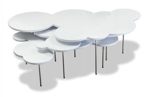 Clouds coffee table set by Mark Hark