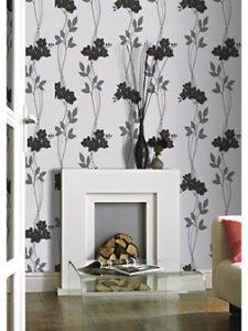 Affordable floral wallpaper