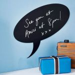 Bargain alert: Speech bubble chalkboard wall sticker