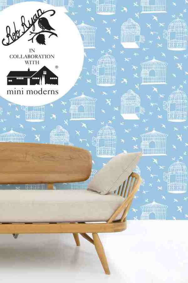 Rob Ryan and Mini Moderns wallpaper