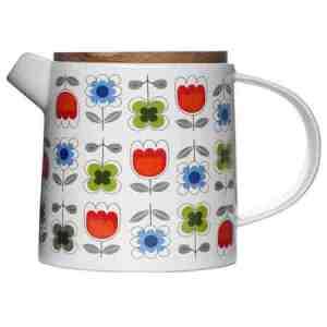 Designer Sagaform retro teapot