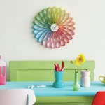 Karlsson Spirograph multi colour wall clock