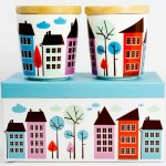 ISAK Landsby cups from Cloudberry Living