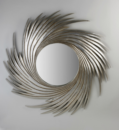 Win a Camilla's Hat Silver Mirror from Juliette's Interiors