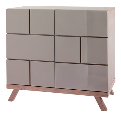 Brick two door gloss sideboard from Dwell