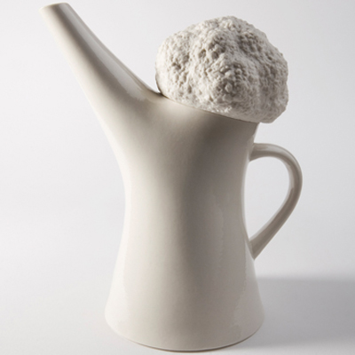 Cauliflower teapot by Sena Gu