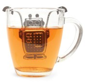 Quirky robot loose leaf tea infuser