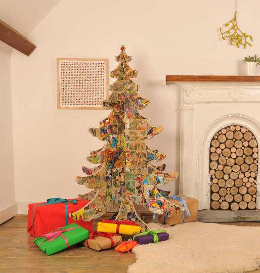Best alternative Christmas trees found by Fresh Design Blog