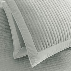 Luxurious silver grey cushion