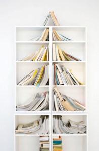 Funky Christmas xmas book trees