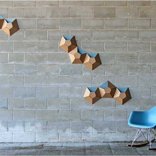 Fresh Design ideas: Cardboard storage wallpockets