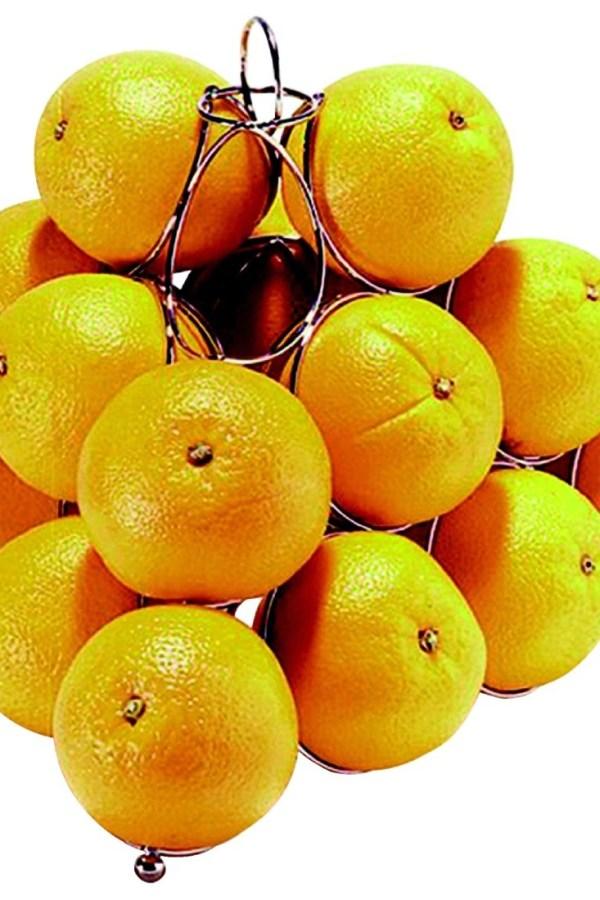 Fruit pyramid: Creative fruit storage display