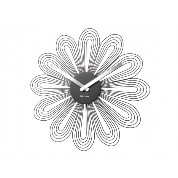 Petals design clock by Karlsson