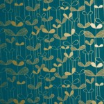 Miss Print Saplings wallpaper design