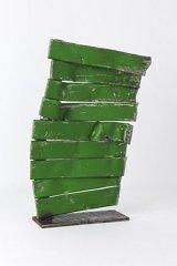 Unique contemporary sculpture radiator