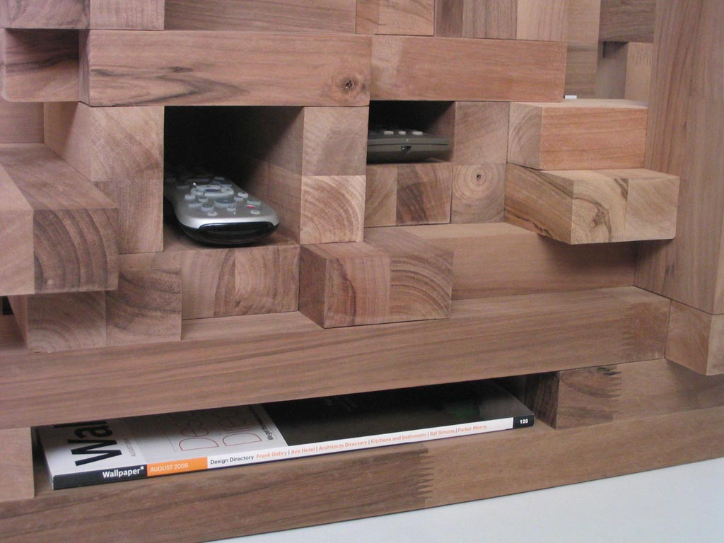 Cityscape coffee table by xor designs fresh design blog for Long coffee table with storage