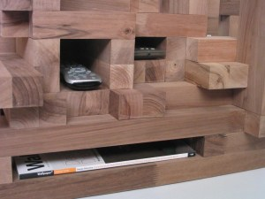 Functional coffee table storage