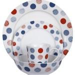 Fab Friday Bargain: Swan textured spot dinner set