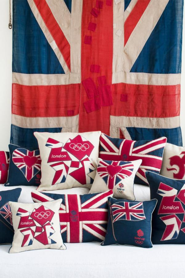 Jan Constantine official London 2012 home textiles