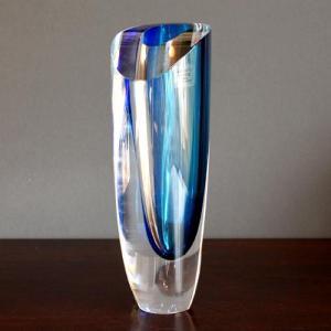 Coastal nautical contemporary chic vase