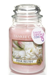 Breast Cancer Care awareness Yankee Candle