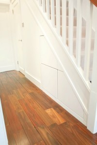 How to build storage under your stairs