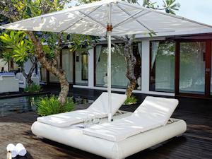 Contemporary garden and deck furniture