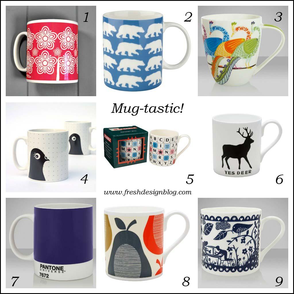 Mug tastic great design mugs for 10 and under fresh for Fresh design blog