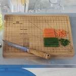 Fresh kitchen ideas: Precision chopping board