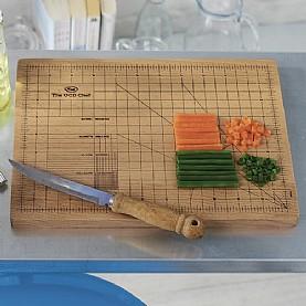 Fresh kitchen ideas: Precision chopping board