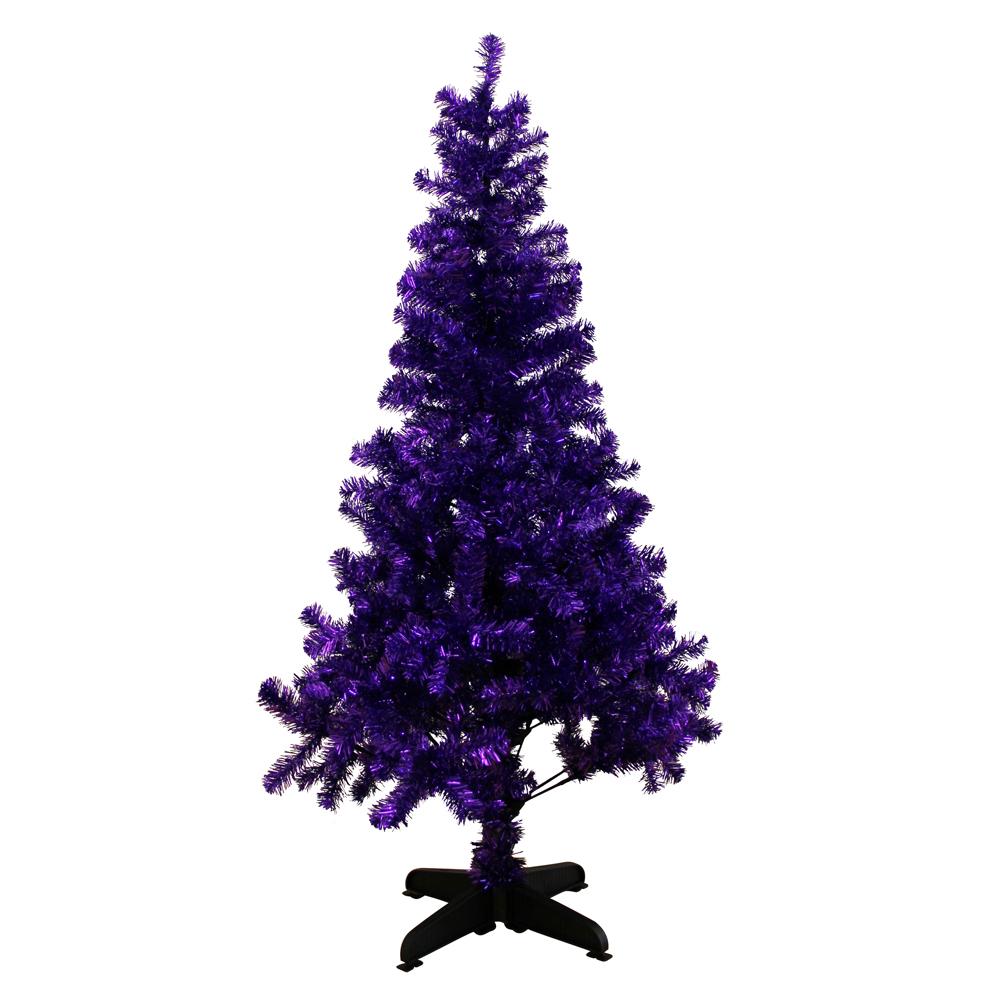 purple christmas tree paperchase