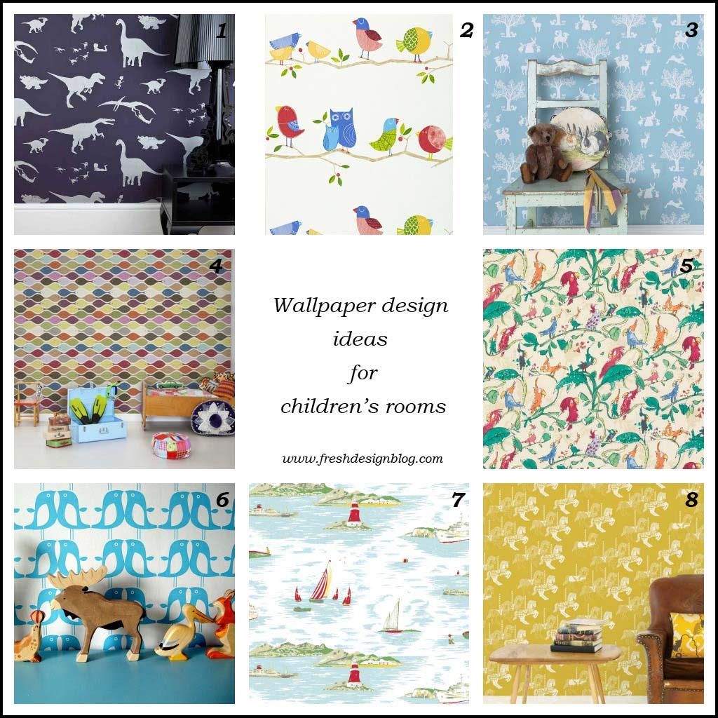 Fresh design ideas wallpaper for decorating children 39 s for Fresh design blog