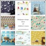 Fresh Design Ideas: Wallpaper for decorating children's rooms