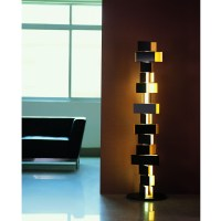 Gemma stacked block floor lamp from Fashion For Home ...