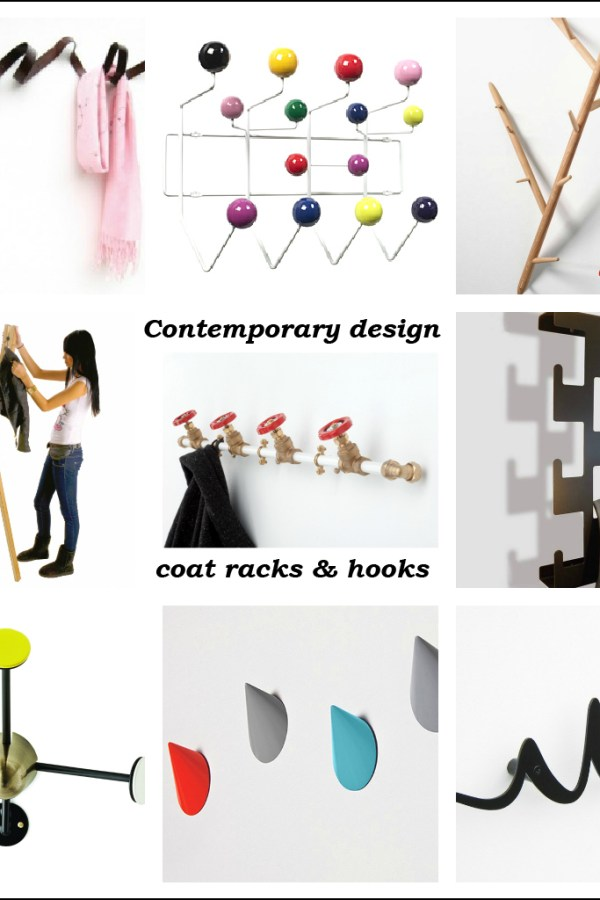 Hang it in style: Best contemporary design coat racks and hooks