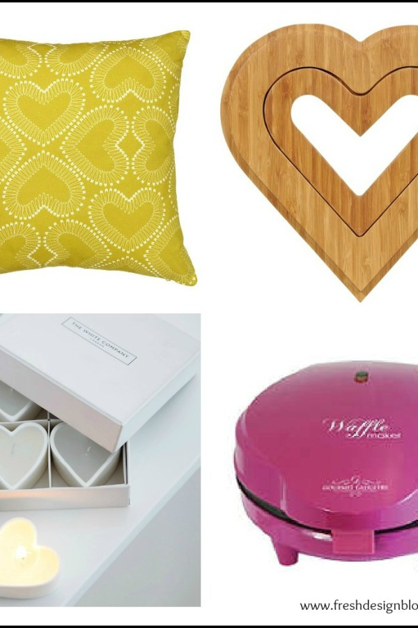 Give your home some love: Heart shaped homeware