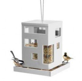 Bird seed garden feeder