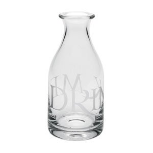 Contemporary home glassware