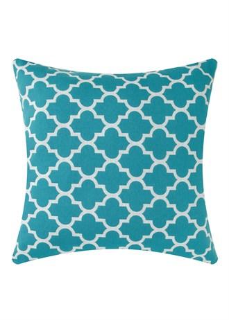 Affordable geometric trend soft furnishings