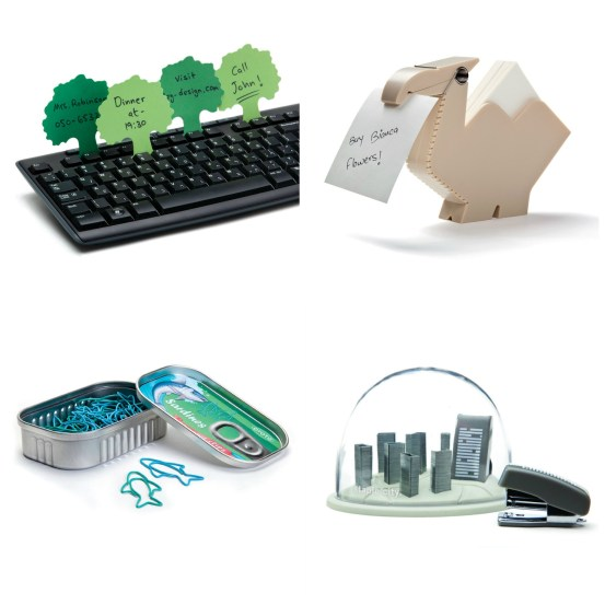 Amusing desk accessories