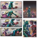 Kick-Ass 2 limited edition graphic print canvas wall art