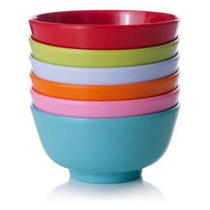 Durable outdoor picnic dining bowls