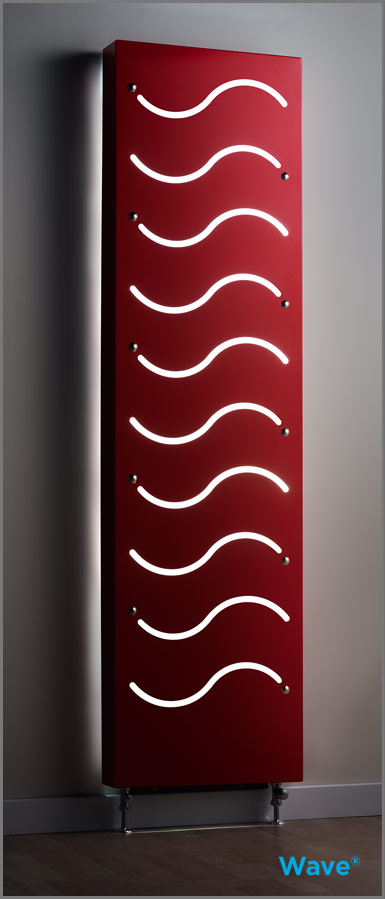 Contemporary heating: Modern radiator designs from FlashRads