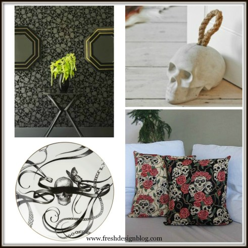 Decorate your home with skulls