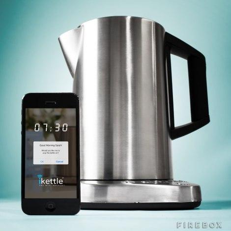 Make hot drinks wirelessly